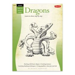 Picture of W/F HOW TO 295 DRAW  DRAGONS