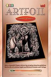 Picture of ARTFOIL COPPER GORILLA