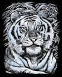 Picture of ARTFOIL SILVER WHITE TIGER