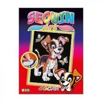 Picture of SEQUIN ART JUNIOR PUPPY