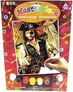 Picture of PAINT BY NUMBERS JUNIOR PIRATE