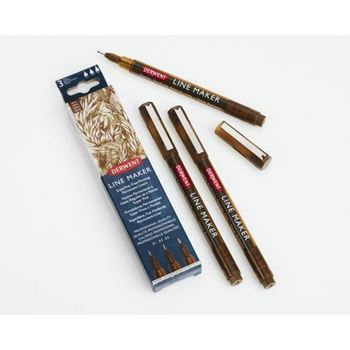 Picture of GRAPHIK LINE MAKER - PACK OF 3 Sepia.