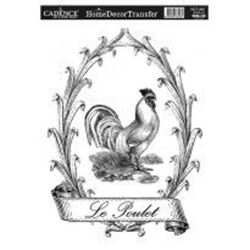 Picture of DÉCOR TRANSFER PAPER LE POULET