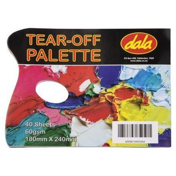 Picture of DALA TEAR OFF PALETTE 18X24CM