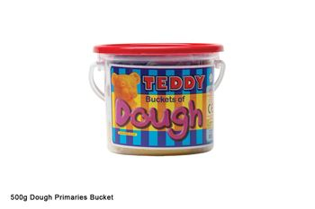 Picture of DALA TEDDY DOUGH 500G ASSORTED