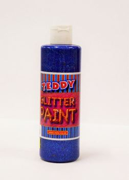 Picture of TEDDY GLITTER PAINT BLUE