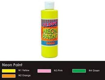 Picture of TEDDY NEON PAINT YELLOW
