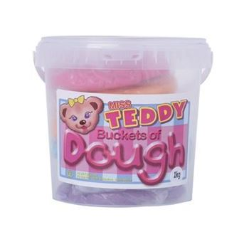 Picture of DALA MISS TEDDY DOUGH 1KG ASSORTED