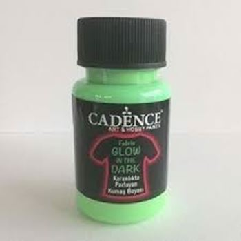 Picture of GLOW IN DARK FABRIC D/GREEN 50ml