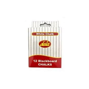 Picture of CHALK 12PCS WHITE