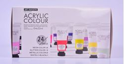 Picture of ART RANGER 24X22ML ACRYLIC COLOURS