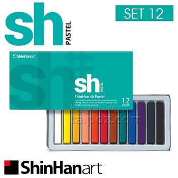 Picture of SHINHAN SOFT PASTEL 12 SET