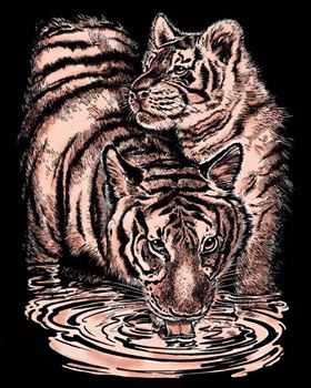 Picture of ARTFOIL COPPER TIGER