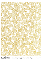 Picture of METAL LEAF RICE PAPER GOLD#07
