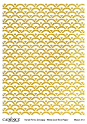 Picture of METAL LEAF RICE PAPER GOLD#13