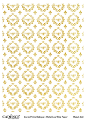 Picture of METAL LEAF RICE PAPER GOLD#40