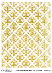Picture of METAL LEAF RICE PAPER GOLD#20