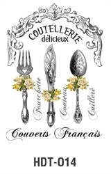 Picture of DÉCOR TRANSFER PAPER CUTLERY