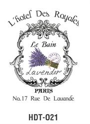 Picture of DÉCOR TRANSFER PAPER PARIS 3