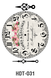 Picture of DÉCOR TRANSFER PAPER CLOCK