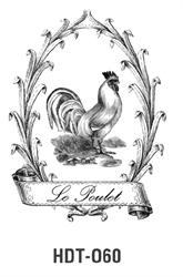 Picture of DÉCOR TRANSFER PAPER LE POULET