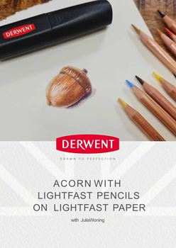 Picture of Acorn with Derwent Lighfast