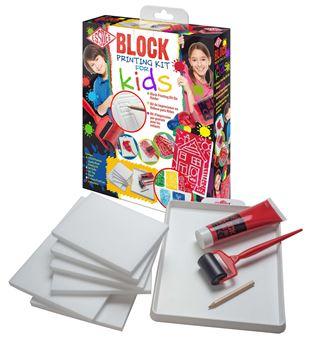 Picture of ESSDEE BLOCK PRINTING KIT FOR KIDS