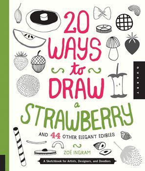 Picture of W/F 20 WAYS TO DRAW STRAWBERRY