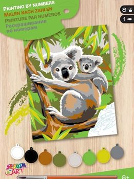 Picture of PAINT BY NUMBERS JUNIOR KOALA