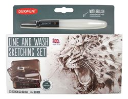 Picture of DERWENT LINE AND WASH SKETCHING SET