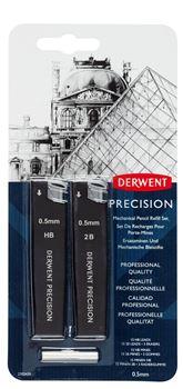 Picture of DERWENT PRECISION MECHANICAL PENCIL REFILL SET 0.5MM HB
