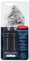 Picture of DERWENT PRECISION MECHANICAL PENCIL REFILL SET 0.7MM HB