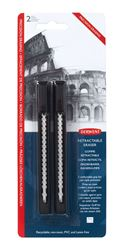 Picture of DERWENT 2PC RETRACTABLE ERASERS