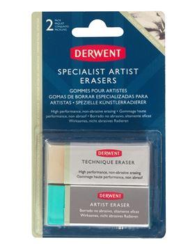 Picture of DERWENT 2PC SPECIALIST ARTIST ERASERS