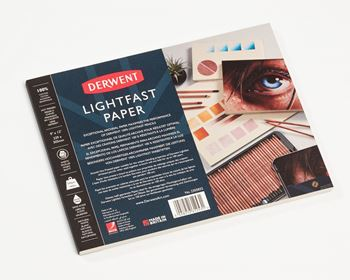 Picture of DERWENT LIGHTFAST PAPER PAD 9X12 (A4)