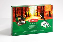 Picture of DERWENT ACADEMY ACRYLIC WOODEN BOX SET