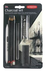Picture of DERWENT MIXED SELECTION CHARCOAL SET