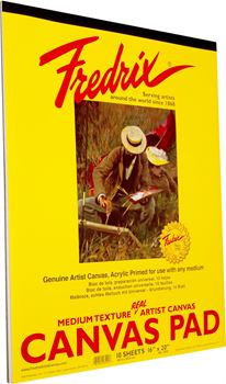 Picture of FREDRIX CANVAS PAD 16X20