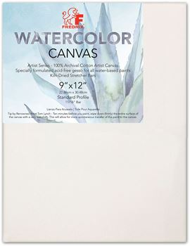 Picture of FREDRIX WATER COLOUR CANVAS 9X12