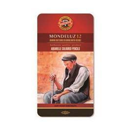 Picture of MONDELUZ(AQUA)C/PENCILS TIN OF 12