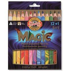 Picture of MAGIC COLOURED PENCIL SET 12+1