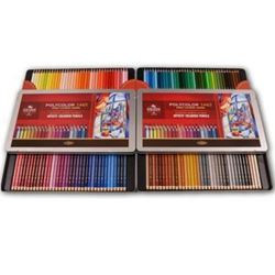 Picture of POLYCOLOR PENCIL TIN SET OF ALL 144 COLOURS