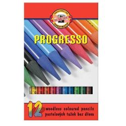 Picture of PROGRESSO WOODLESS COLOURED PENCILS SET OF 12