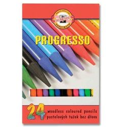 Picture of PROGRESSO WOODLESS COLOURED PENCILS SET OF 24