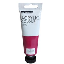 Picture of ACRYLIC CRAFT PAINT 75ML ROSE RED