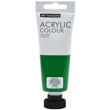 Picture of ACRYLIC CRAFT PAINT 75ML GREEN MID