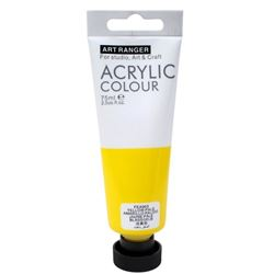 Picture of ACRYLIC CRAFT PAINT 75ML YELLOW PALE