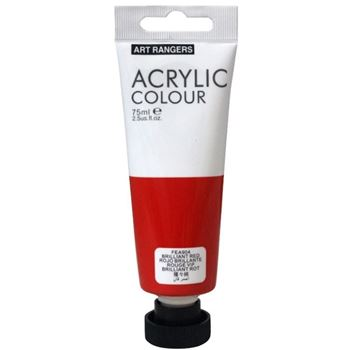 Picture of ACRYLIC CRAFT PAINT 75ML BRILL RED