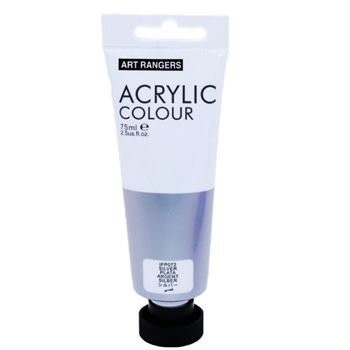 Picture of ACRYLIC CRAFT PAINT 75ML SILVER