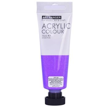 Picture of ACRYLIC CRAFT PAINT 75ML PEARL PURPL